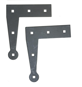 L Hinge Back Plate (Pair)